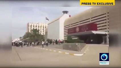 Happening Now: Iraqi protesters break into Baghdads Green Zone demanding reform (P.1)