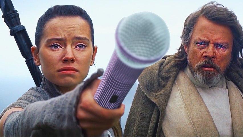 Luke Is All By Himself (Star Wars The Force Awakens Alternate Ending DUM Parody)