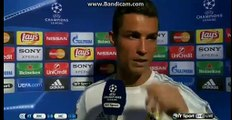 Real Madrid 1-0 Man City - Cristiano Ronaldo Post-Match Interview