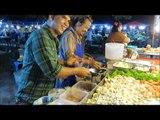 **THAI SEAFOOD SALAD RECIPE**Thai Street Food Night Market Phuket Thailand Asia Travel tri