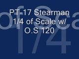 PT-17 Stearman 1/4 of Scale