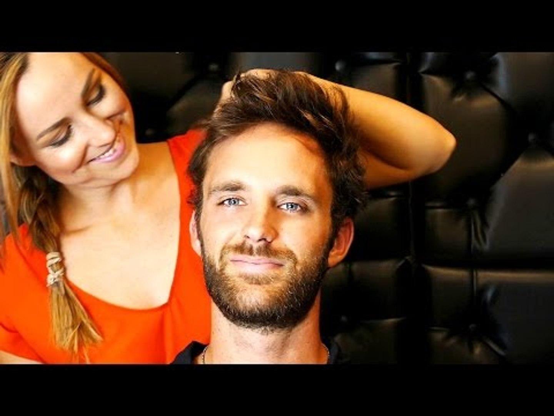 ASMR Massage For Head & Scalp, Binaural Ear to Ear Whisper Scratching Sounds
