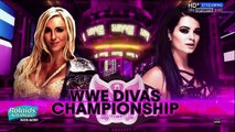 720pHD WWE RAW 11 09 15 Paige vs Becky Lynch  Paige Attack Becky Lynch with the PTO