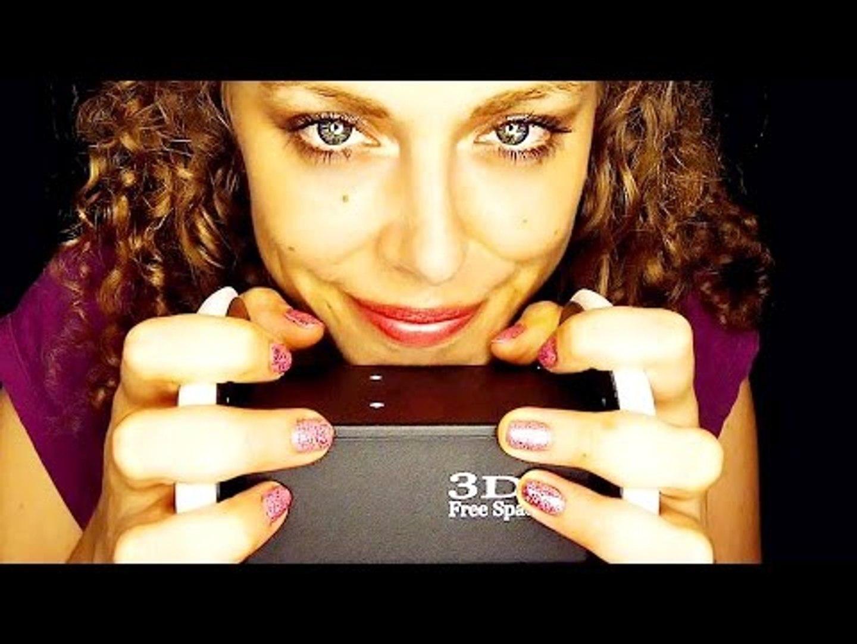 Binaural ASMR Whisper & Ear Massage 3Dio, Touching, Cupping, Cleaning, Blowing, Brushing
