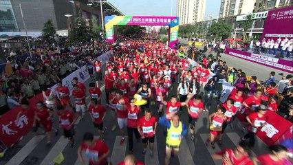 Lanzhou Marathon 2015 part 1