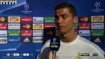 Real Madrid 1-0 Manchester City - Cristiano Ronaldo Post Match Interview