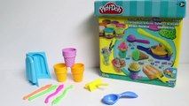 Play Doh Ice Cream Playdough Popsicles Play-Doh Scoops 'n Treats Rainbow Popsicles Toy Videos Part 4