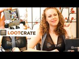 Toy Tingles #14 - ASMR Loot Crate Unboxing January 2015 Tapping, Scratching, Crinkles Triggers
