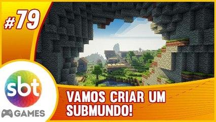 SBT no Minecraft - Debaixo do mapa  COMEÇANDO UM SUB-MUNDO