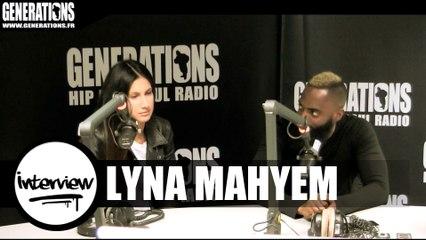 Lyna Mahyem - Interview (Live des studios de Generations)