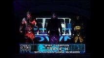 Shane McMahon, Chyna, Triple H, Linda McMahon, Stephanie McMahon and Test Segment