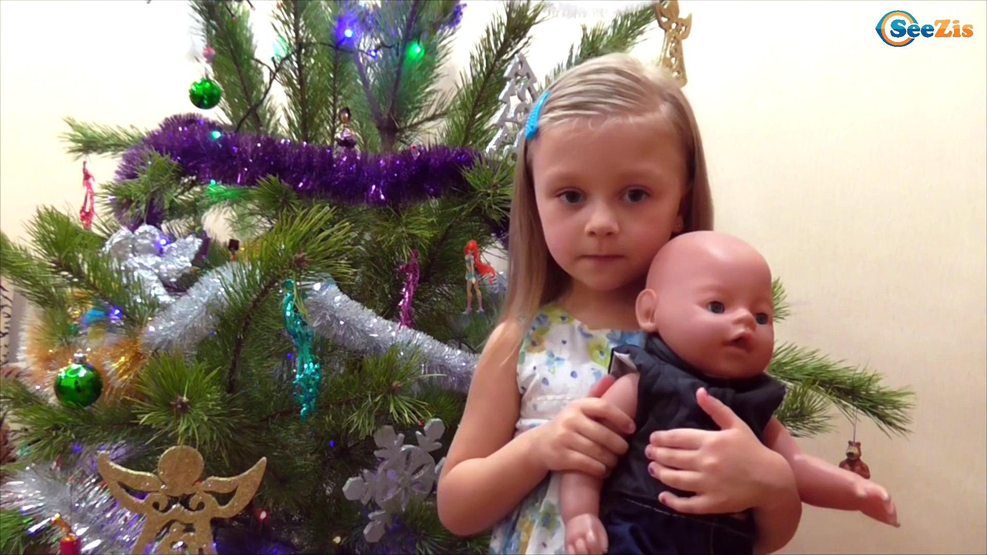 ✔ Поздравление С Наступающим Новым Годом от Ярославы и Беби Борна / Doll Baby Born with Yaroslava ✔