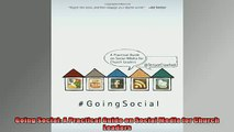 READ book  Going Social A Practical Guide on Social Media for Church Leaders  FREE BOOOK ONLINE