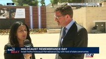 Israel marks Holocaust Remembrance Day with host of state ceremonies