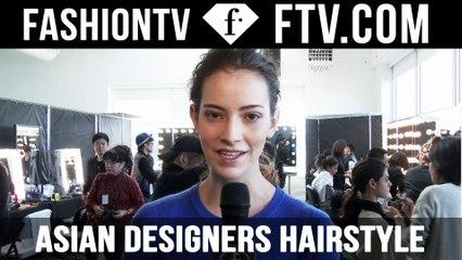 Asian designers Hairstyle NY Fashion Week 2017   FTV.com