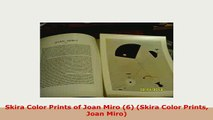 Download  Skira Color Prints of Joan Miro 6 Skira Color Prints Joan Miro PDF Full Ebook