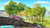 ✔ Ambulance Truck Driver / Game play for children / Extreme Speed Cars Racing / Video for kids ✔