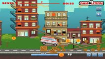 ✔ Game play for kids. Medical Team / Ambulance Race Crazy Speed / Cars Racing / Video for kids ✔