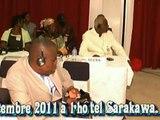 Réunion d'experts gouvernementaux de l'Union africaine  26 - 29 septembre 2011 à Lomé,Togo