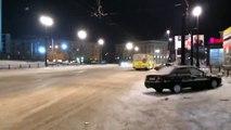 Audi S5 Snow Drift