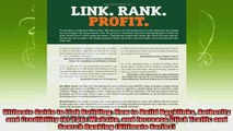 new book  Ultimate Guide to Link Building How to Build Backlinks Authority and Credibility for Your