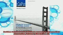 best book  Problem Solving Survival Guide to accompany Intermediate Accounting Volume 1 Chapters 1