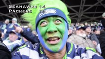 Fan Reaction: Miracle at the Clink: NFC Championship Seahawks vs Packers (Norb Cam selfie)