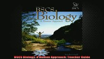 Download PDF BSCS Biology A Human Approach Teacher Guide FULL FREE