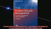 READ book  Product Lifecycle Management 21st Century Paradigm for Product Realisation Decision READ ONLINE