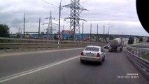 Авария в Климовске 29,07,2013
