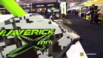 2015 Can am Maverick X MR 1000R Exterior and Interior Walkaround 2014 Toronto ATV Show