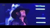 Triple H vs The Undertaker İ WWE Wrestlemania 28 Stage Entrance and Ending Pyro
