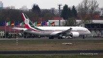 Mexican Air Force • Boeing 787 8 (XC MEX / TP 01) landing in Berlin Tegel (TXL/EDDT)