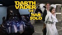 Darth Vader vs Han Solo - Batallas Crónicas