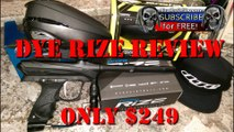 Dye Rize Review by Trails of Doom Paintball Proto R2 Hopper Unboxing Video