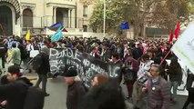 Estudiantes chilenos manifestaron para exigir una reforma educacional
