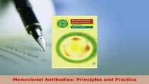 Download  Monoclonal Antibodies Principles and Practice Download Online