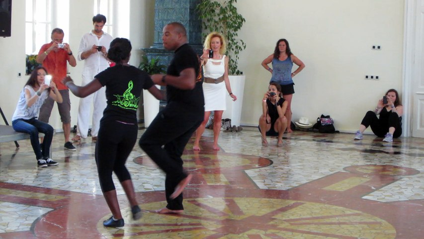2015 - 2nd chacha workshop - end of class with improvisation in Croatia by Occo Style