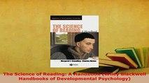 PDF  The Science of Reading A Handbook Wiley Blackwell Handbooks of Developmental Psychology Ebook