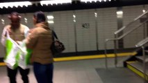New York, New York - 7 Train Arrives at 34th Street _ Hudson Yards (IRT Flushing Line) HD (2016).