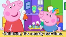 Learn english through cartoon | Peppa Pig with english subtitles | Episode 66: Mister Skinny Legs