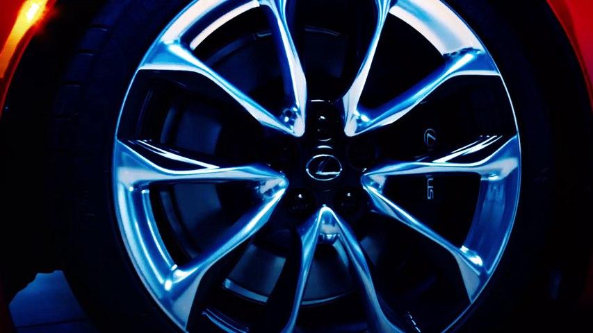 El V8 del Lexus LC 500