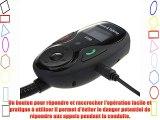 VicTsing Kit de Voiture LCD Display Kit Mains Libres Bluetooth Transmetteur FM Lecteur MP3
