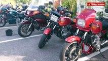 Quimper. Kawasaki Z1300. Le Club France découvre la Cornouaille