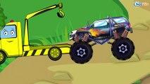 Bajki dla dzieci po polsku. Monster Truck. Samochody Wyścigowe Wyścig. Tiki Taki Polski