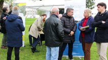 Le DP-Bus du débat public EuropaCity à Villepinte