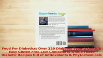 PDF  Food For Diabetics Over 220 Diabetes Type2 Quick  Easy Gluten Free Low Cholesterol Free Books