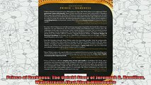 new book  Prince of Darkness The Untold Story of Jeremiah G Hamilton Wall Streets First Black