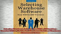 EBOOK ONLINE  Selecting Warehouse Software from WMS  ERP Providers  Expanded Edition Find the Best READ ONLINE