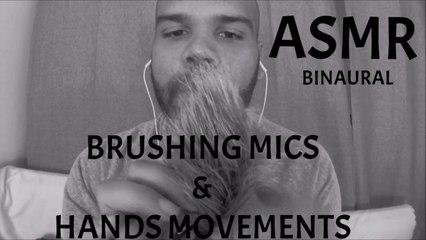 ASMR Brushing the mics (Brosser les micro)